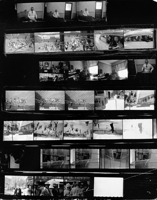 , 'Contact Sheet #15,' 2009, Danziger Gallery