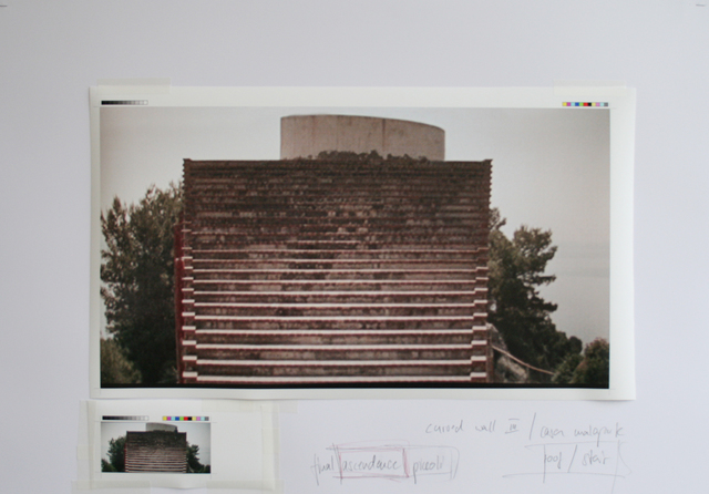 , 'Study Casa Malaparte - Version 3,' 2014, Galleria Fumagalli