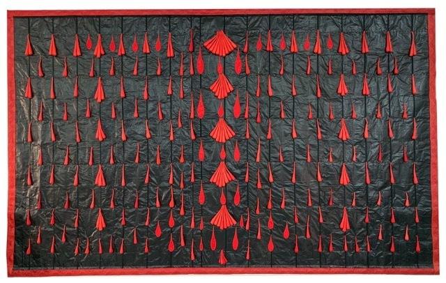 Abdoulaye Konaté, 'Gouttes 2 PM', 2019, Primo Marella Gallery