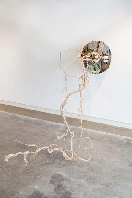 Lorna Williams, 'Lore', 2017, Sculpture, Plaster teeth, vines, plumbing hardware, light fixture, Cindy Rucker Gallery