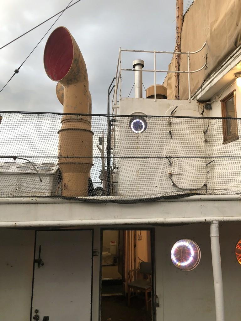 George Kroenert's portals on board the LILAC