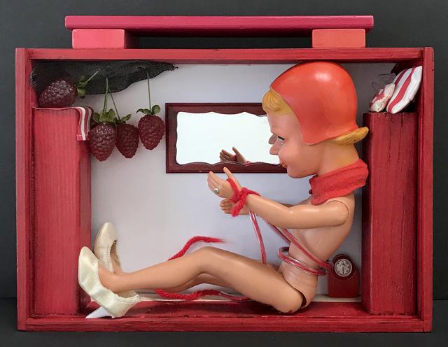 , 'Big Red Riding Hood,' 2018, Coagula Curatorial