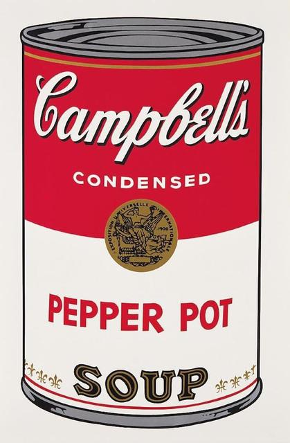 Andy Warhol, 'Campbells Soup Pepper Pot II.51', 1968, OSME Fine Art