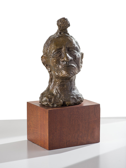 , 'Indian with Topknot,' 1972, Larsen Gallery