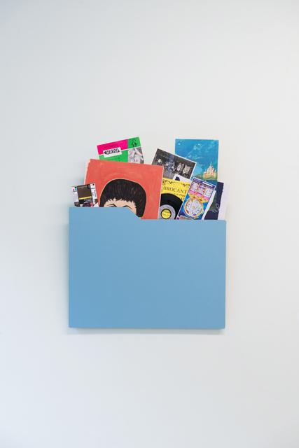 , 'Dossiers et cultures et ordures No. 7,' 2017, Galerie Liusa Wang