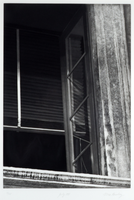 Nona Hershey, 'July 1981 (an open window representing an escape or opportunity)', ca. 1983, Stone + Press Gallery