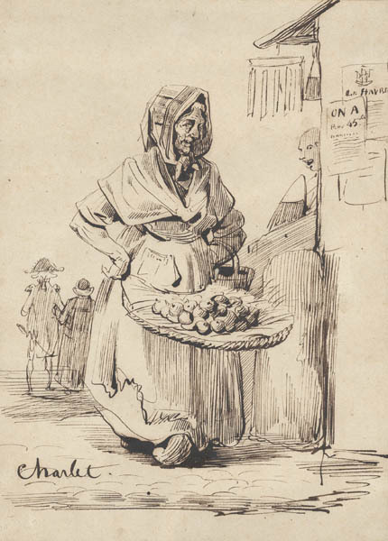 , 'The Fruit Seller,' ca. 1840, Childs Gallery