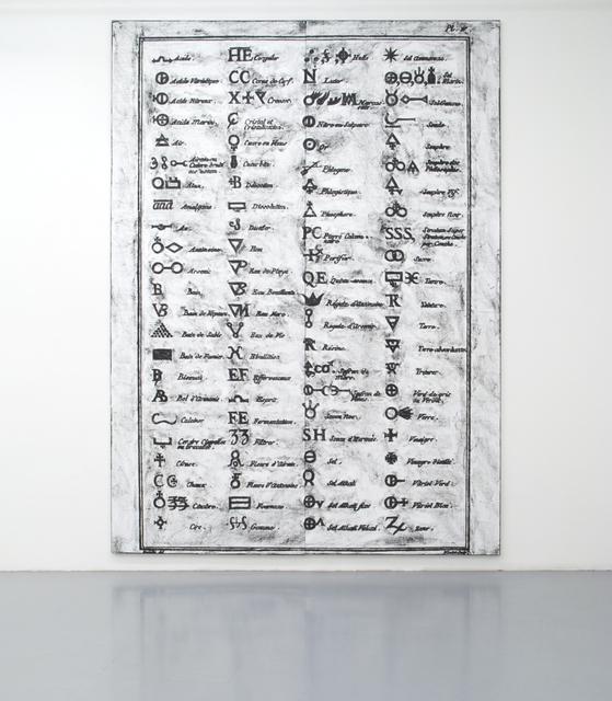 , 'Untitled (Diderot, Symbols, Diptych),' 2012, Galerie Micheline Szwajcer