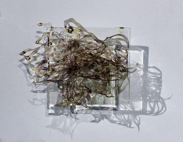 Julia Sinelnikova, 'Reveals and Sprites, Number 34', 2017, Mixed Media, Hand cut mylar, acetate, resin, acrylic, Wallplay