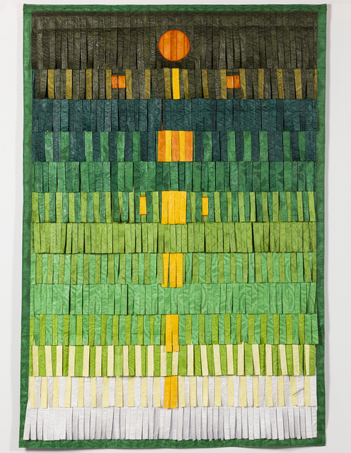 , 'Composition B/S (vert + personne jaune),' 2015, Blain | Southern
