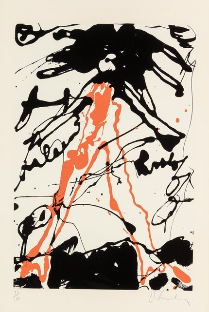 Claes Oldenburg, 'Striding Figure, from Conspiracy: The Artist as Witness portfolio', 1971, Heritage Auctions