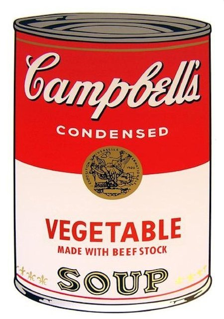 Andy Warhol, 'Campbells Soup Vegetable - Sunday B. Morning (After)', ARTEDIO