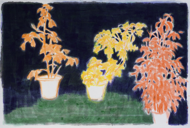, 'Three Trees 3,' 2014, Mind Set Art Center