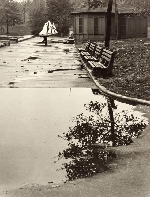 André Kertész, 'Homing Ship [Central Park Boat Basin, New York]', 1944, Doyle