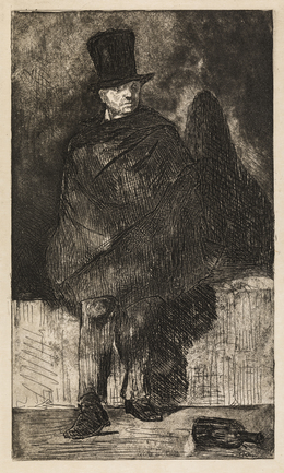 , 'The Absinthe Drinker,' 1867-68/1874, Statens Museum for Kunst