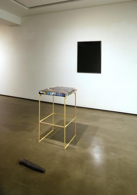 , 'Black Word,' 2014, Graywall