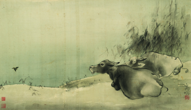 , 'Two Water Buffaloes,' , Art Museum of the Chinese University of Hong Kong