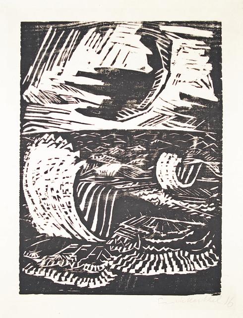 , 'Brandung,' 1915, Henze & Ketterer