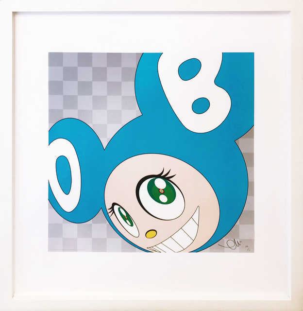 Takashi Murakami, 'AND THEN . . . (AQUA BLUE)', 2011, Gallery Art