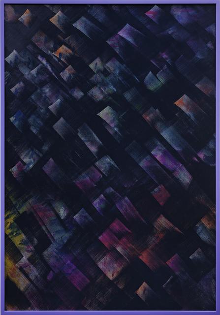 Julia Dault, 'Blade Runner', 2013, Painting, Acrylic on canvas, oil on vinyl in painted wood frame, Galerie Bob van Orsouw