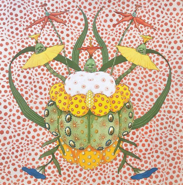 , 'Untitled Flowers 2,' 2018, JanKossen Contemporary