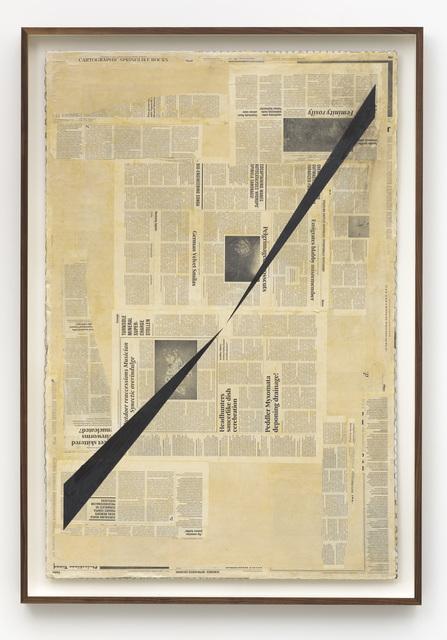 , 'Perspective Study,' 2014, Zeno X Gallery