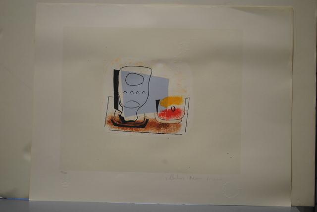 Pablo Picasso, 'Nature Morte au Verre', 1979-1981, Golden Eagle Art Gallery