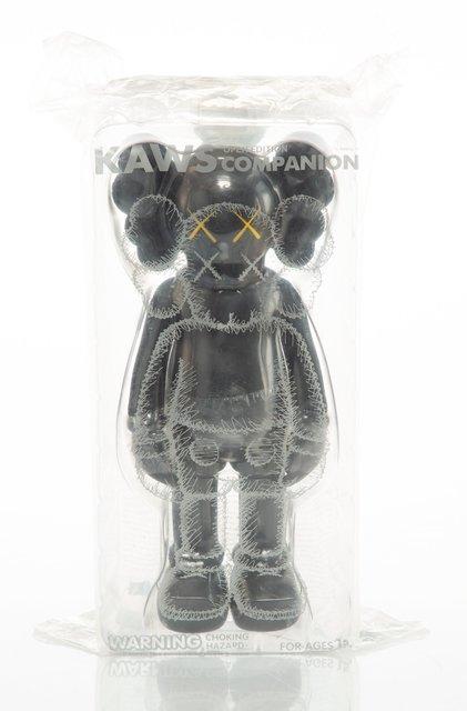 KAWS, 'Companion (Black)', 2016, Sculpture, Painted cast vinyl, Heritage Auctions