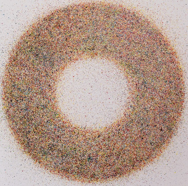 , 'Vibrating  circle  #2,' 2018, Alessandro Berni Gallery