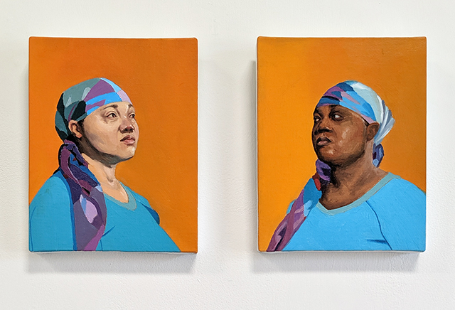 Ja'Rie Gray, 'What if I Was...?', 2014, Painting, Oil on canvas, Craig Krull Gallery