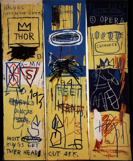 Jean-Michel Basquiat, 'Charles the First,' 1985, Guy Hepner