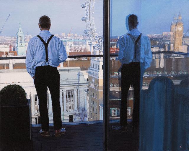 , 'London, second coffee II,' 2017, Pontone Gallery
