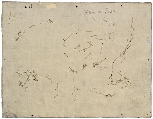 , 'Verso n°54, Baigneuse et profil, par Pablo Picasso, collection Musée national Picasso, Paris,' 2016, Modernism Inc.