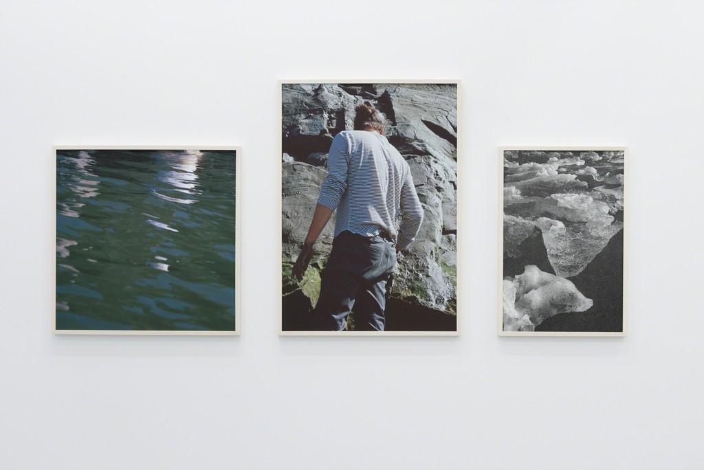 brise glace soleil blanc, 2016, exhibition view, Galerie Antoine Ertaskiran, © Paul Litherland.