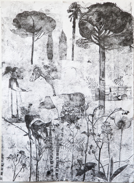 , 'Tuscan Landscape,' 2017, Jessica Carlisle