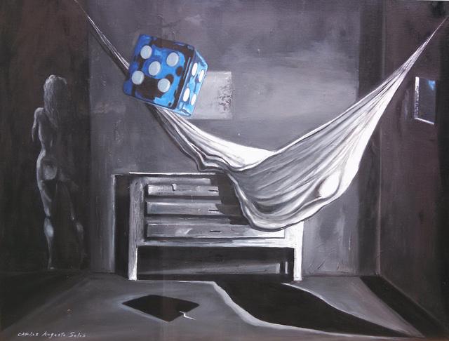 , 'The Blue Dice,' 2015, Studio 905 on Juniper