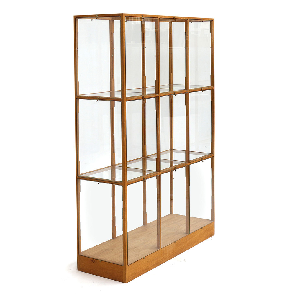 Piet Hein Eek, U0027Oak Display Cabinet   3 Columnu0027, 2015, The