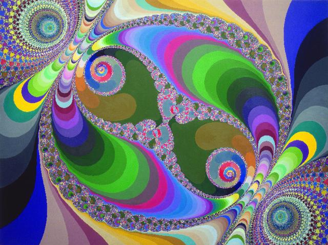, 'Diptych part 1,' 2000-2001, Pola Magnetyczne