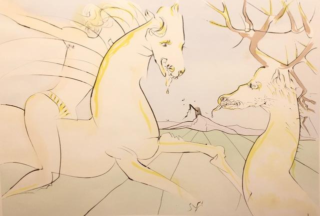 , 'le Cheval s'Etant Voulu Venger du Cerf,' 1974, AFA Gallery