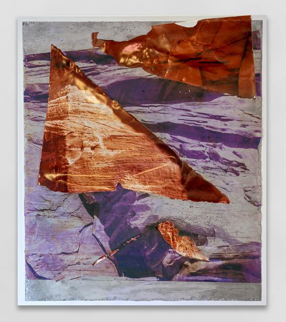 , 'Utah Red Wall Concrete Bend,' 2014, Galerie Christophe Gaillard