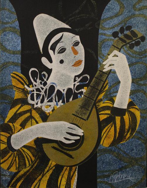 , 'Clown Blanc A La Mandolin ,' , The Loft Fine Art