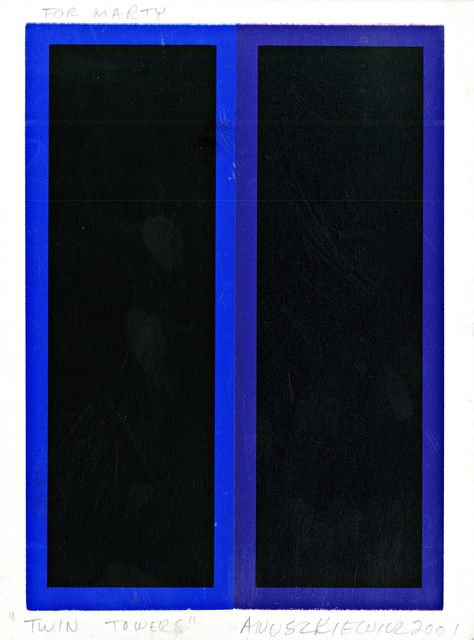 , 'Twin Towers,' 2001, Alpha 137 Gallery