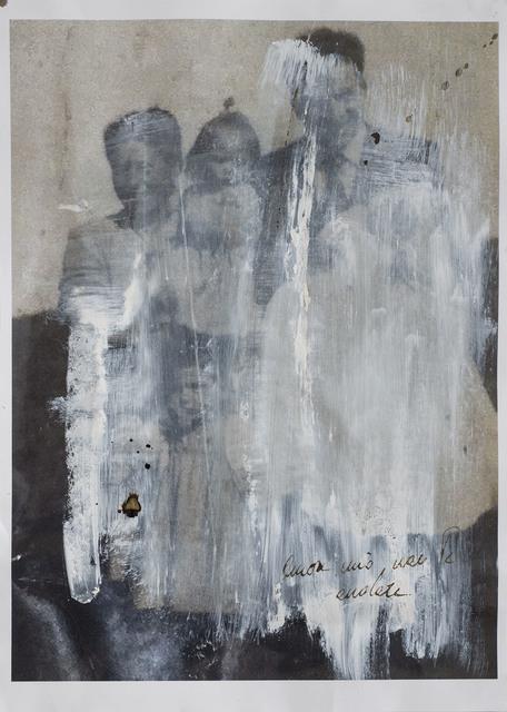, 'Amore mio non te ne andare,' 2015, Galleria Anna Marra