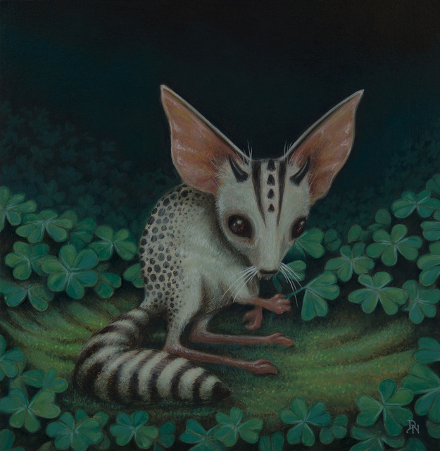 , 'Ring-Tailed Clover Mouse,' 2017, Flower Pepper Gallery