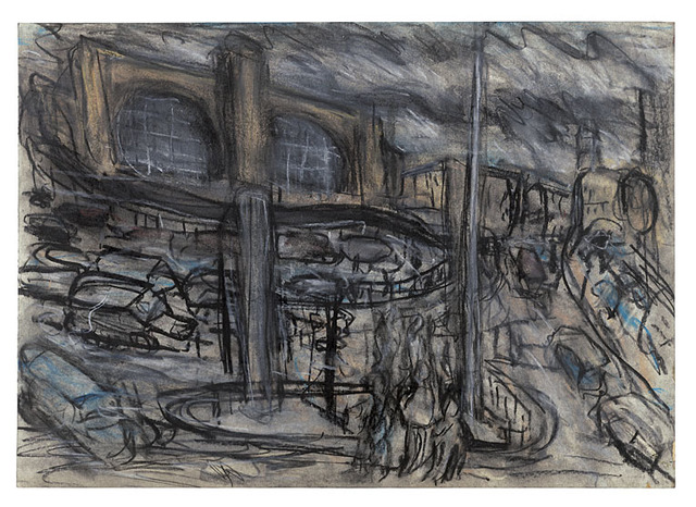 , 'King's Cross Stormy Day no. 4,' 2004, Annely Juda Fine Art