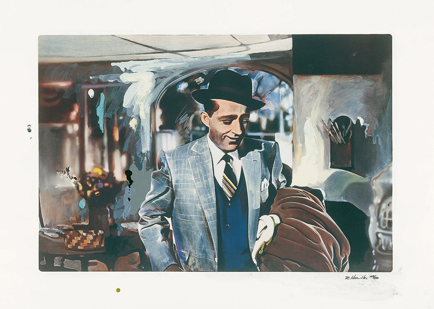 Richard Hamilton, I'm Dreaming of a Black Christmas, 1971