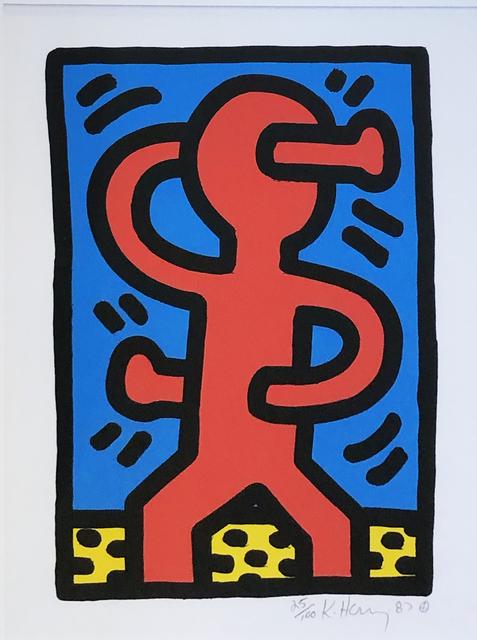 "Keith Haring, 'Untitled ""Pre-Pop Shop"" (A)', 1987, Hamilton-Selway Fine Art"