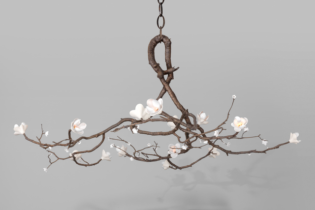 , 'Radial Branch Chandelier,' 2019, Kasmin