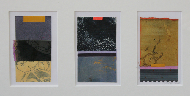 , 'Untitled Collage 1+ 2+ 3,' , Wallace Galleries
