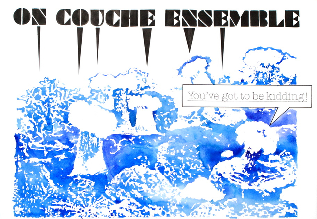 , 'On Couche Ensemble,' 2010, Less is More Projects